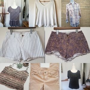 Free people lucky Anthropologie vince bundle M